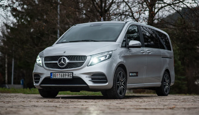 Mercedes-Benz V-Class: Luxury Express for VIPs and others