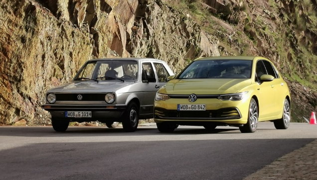 We drove the new Golf 8 in Porto: Legend is ready to step into the future
