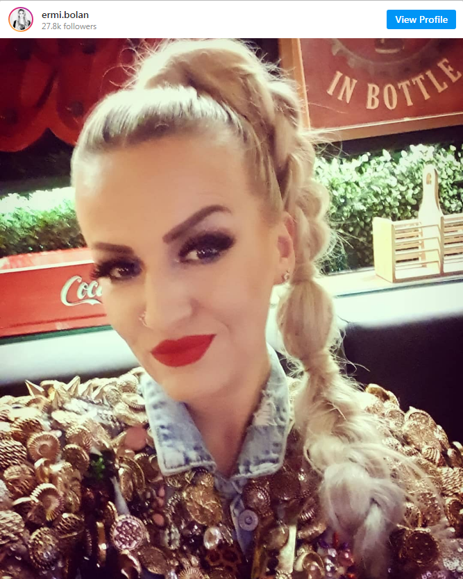 Ermina Pašović zadruga 4 ulazak instagram