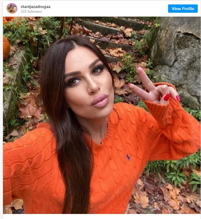 Stanija Dobrojević instagram