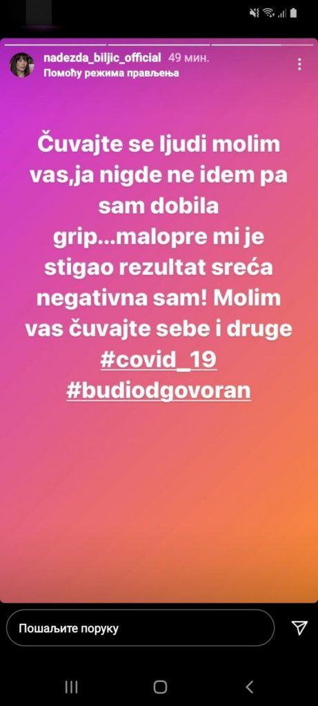 Nadezda Biljić - Instagram