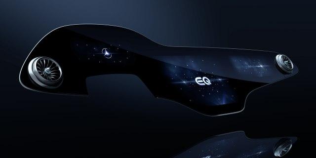 Mercedes unveils MBUX Hyperscreen