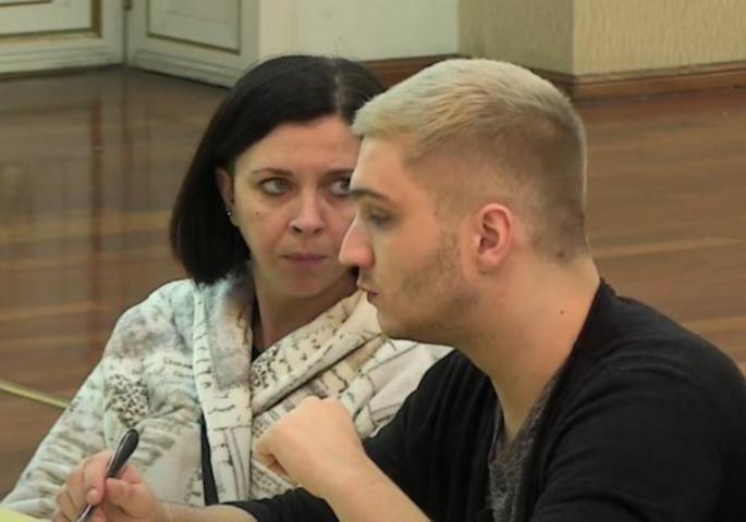 Tanja Radovanović i Dario Šogorović Foto: TV Happy printscreen
