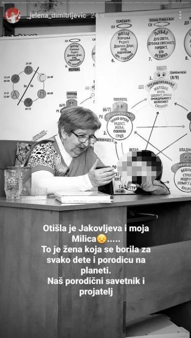 Jelena DimitrijevićFoto: Instagram Printscreen/lJelena Dimitrijević