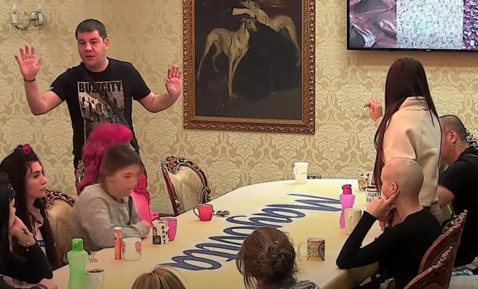 Ivan Marinković, Jelena Ilić Foto: Youtube Printscreen/Parovi tv Happy